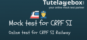 Online mock test for CRPF SI