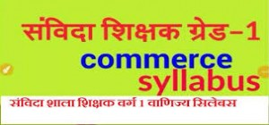 Online mock test for COMMERCE  in samvida varg 1 by tutelagebox.com