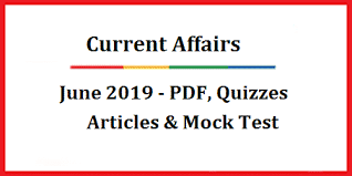Mock test for 2019 current affairs last moth by tutelage box.com
