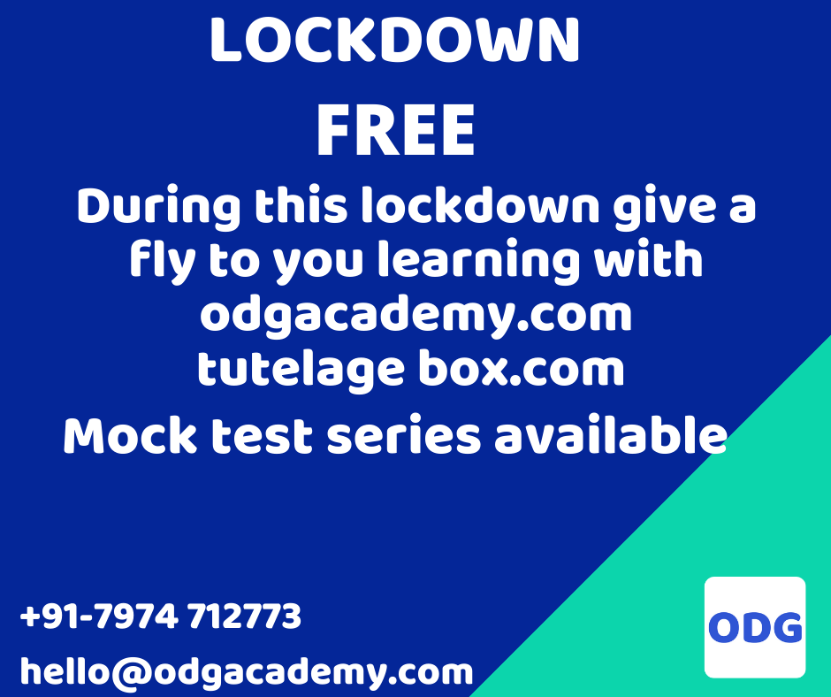 Online Free Mock Test  for All competitive  exams by odgAcademy